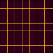 Bold burgundy rectangle tiles