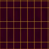 Bold burgundy rectangle tiles
