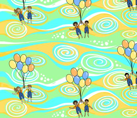Enjoy the Ride fabric by gcatmash on Spoonflower - custom fabric