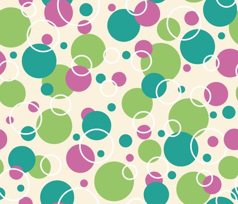 Dots Around fabric by jaanahalme on Spoonflower - custom fabric