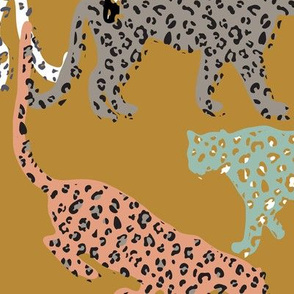 africa africa - leopards - gold - jumbo