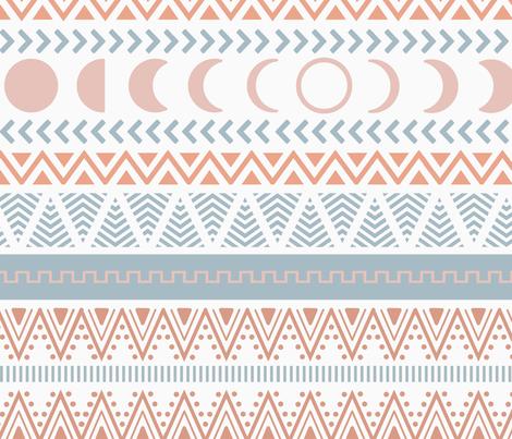 boho pattern fabric by cafelab on Spoonflower - custom fabric