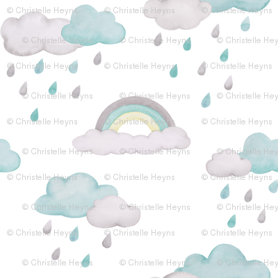 Rainy Days Wallpaper
