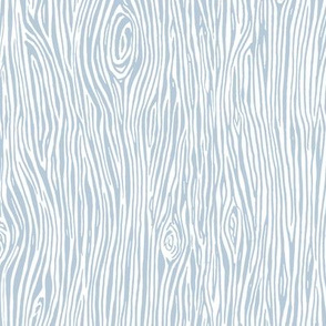woodgrain fabric // faux bois woodland forest trees blue nursery kids