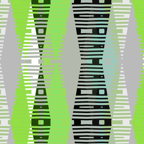 jeweltone mod green screen fabric by joanmclemore on Spoonflower - custom fabric