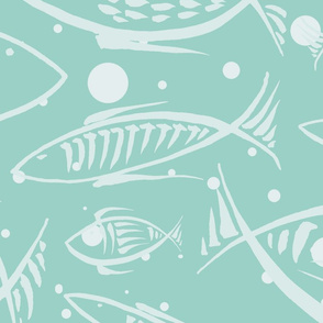 fishes dream (aqua)