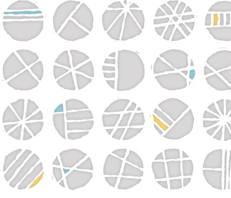 SteppingStones fabric by beckarahn on Spoonflower - custom fabric