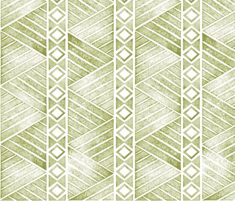 Ohana_Green fabric by mia_valdez on Spoonflower - custom fabric