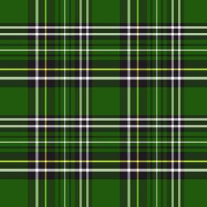 green and black tartan plaid 8x8
