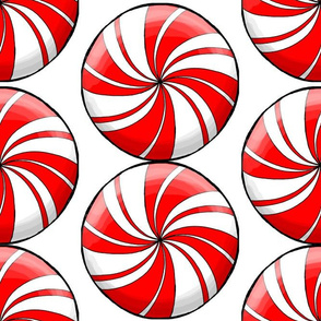 peppermint candy large scale