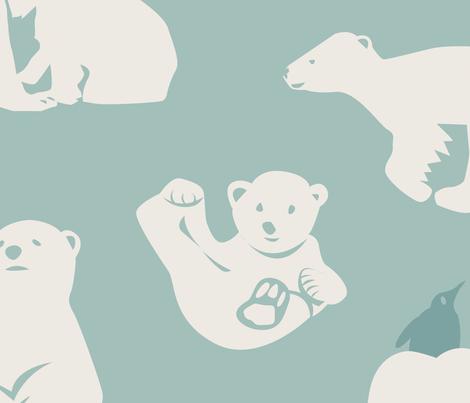 My arctic family fabric by camcreative on Spoonflower - custom fabric