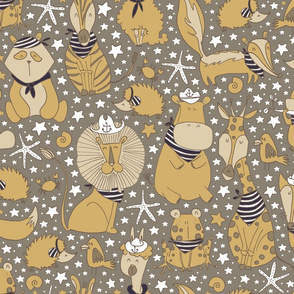 Pattern #97 - Sailor Animals