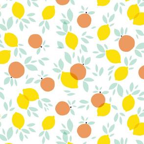 Lemons and grapefruits variation