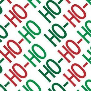 Christmas Santa Ho Ho Ho Cute Christmas Diagonal  12-01
