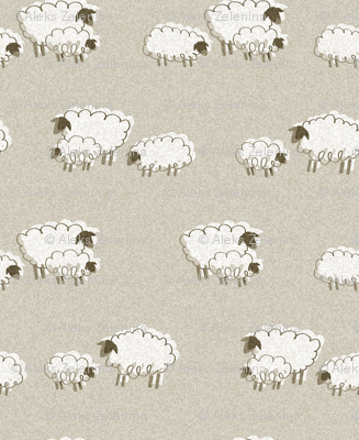 sheep nursery repeat