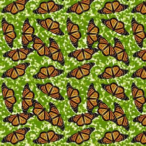monarch majesty - green