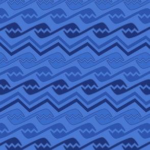 geometric dark blues design shapes abstract