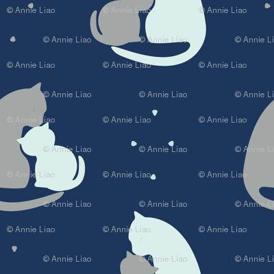 Kitten Kisses by Spritely Design