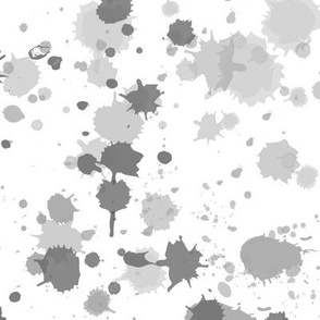 Splat in Charcoal Greys