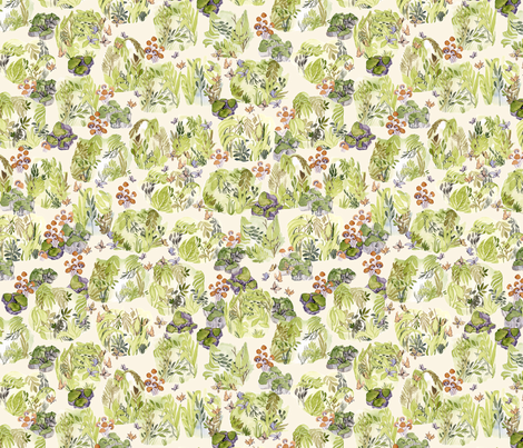 18.10.22 plumet street's garden fabric by numinart on Spoonflower - custom fabric