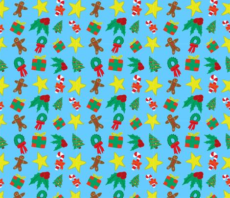 Holiday Cheer fabric by nvasseur on Spoonflower - custom fabric