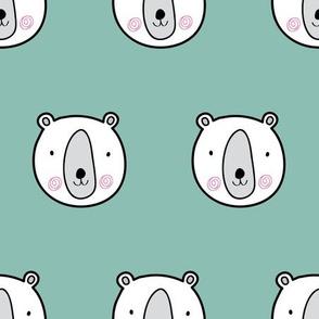 Bears cute kids pattern