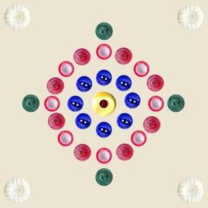 Grandma's Button Box circles