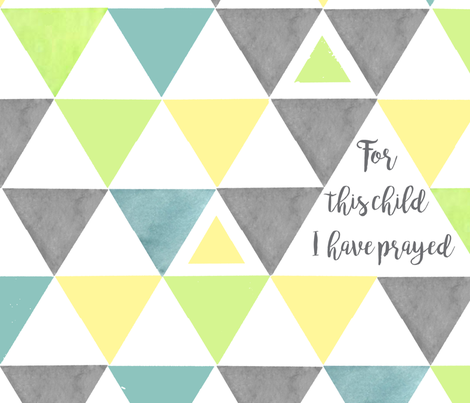 For this child triangles fabric by tiffanyaryee on Spoonflower - custom fabric