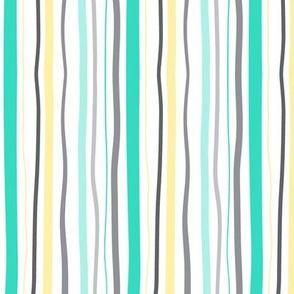 Parade Stripe (aqua)