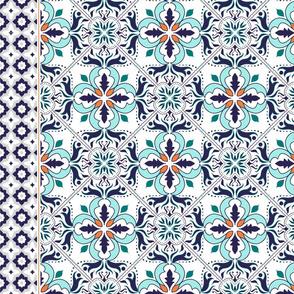 Moroccan Tile Runner-01
