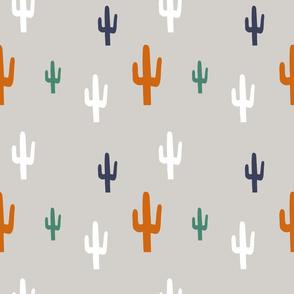 Cactus fall autumn desert colour