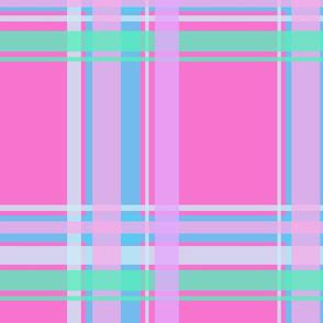 Pink loves Plaid