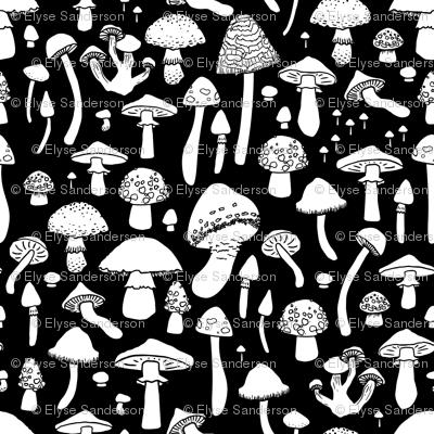 Mushrooms - Black