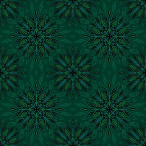A flower from the family of succulent. Seamless pattern that will decorate with itself any object or fabric
