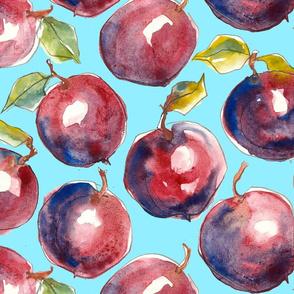 Big Juicy plums - sky