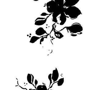 black-and-white-aquarell