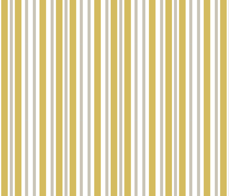 mustard stripes fabric by annagranta on Spoonflower - custom fabric