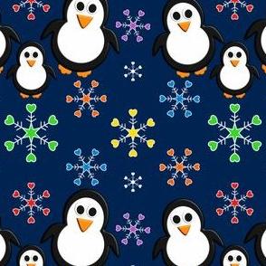 Trio Penguin Family