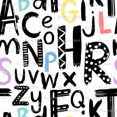 nursery alphabet