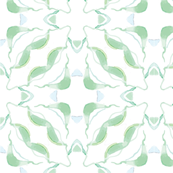 green crocus tile bigger