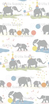 Happy elephants Jumbo wallpaper