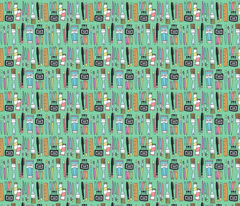 art and design B fabric by laura_may_designs on Spoonflower - custom fabric