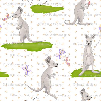 Jumbo Scale Baby Kangaroo
