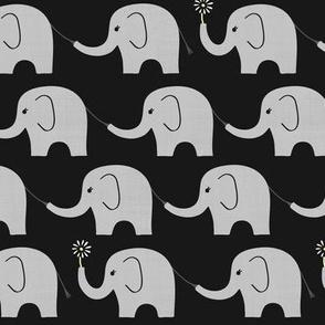 Midnight Elephant Parade