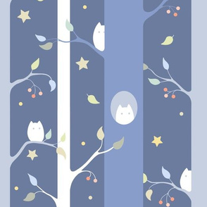 Owl forest (night)
