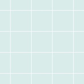 White grid thick lines on mint