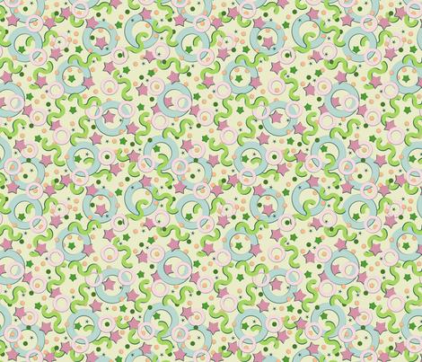 Baby dreams 1 fabric by alex_blud on Spoonflower - custom fabric