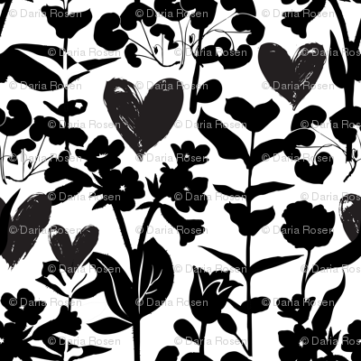 Flowers and hearts 18_0396