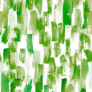 painting dark green