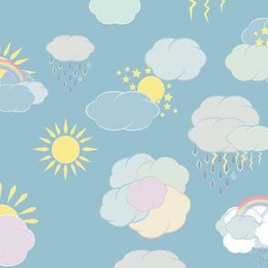 nubes and rain